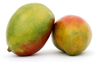 two large mango